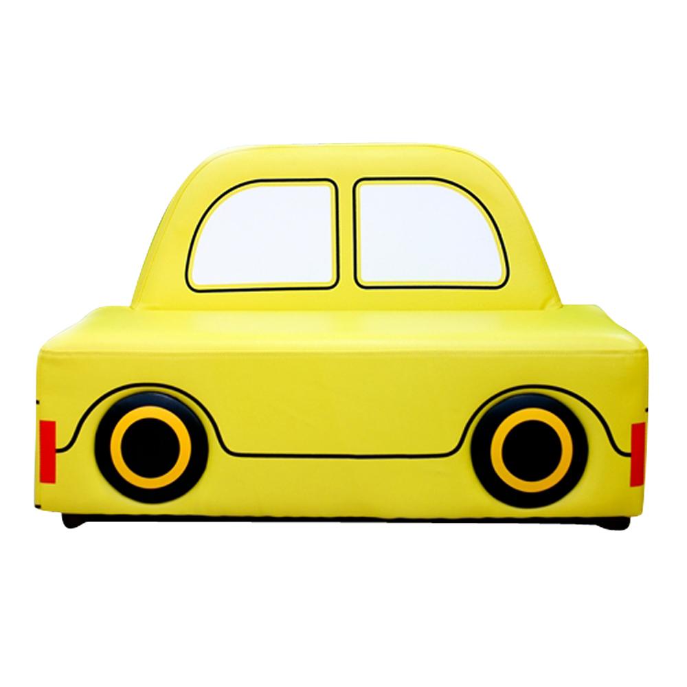 유아 택시소파(노랑/초록/분홍)