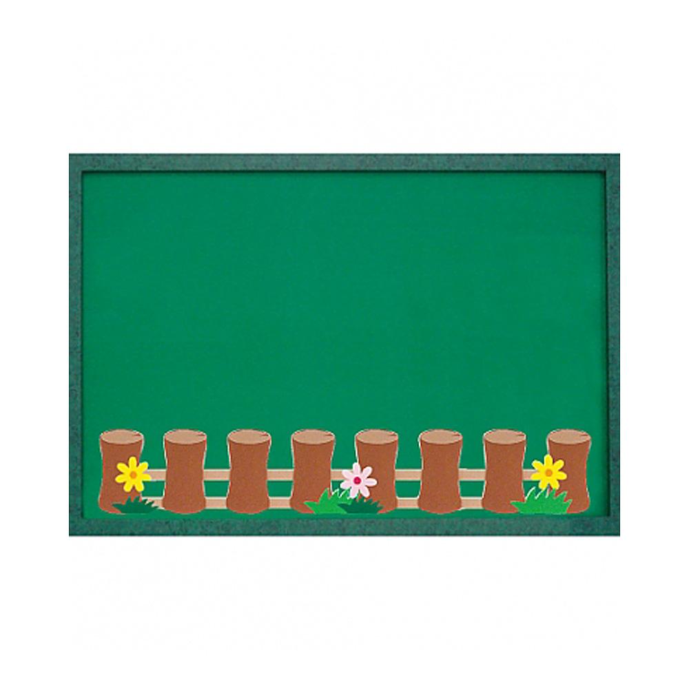 h50 어린이집 환경판꾸미기(대) 통나무울타리