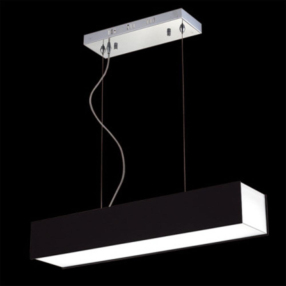 LED 아크릴 P_D 식탁등 블랙(30W)