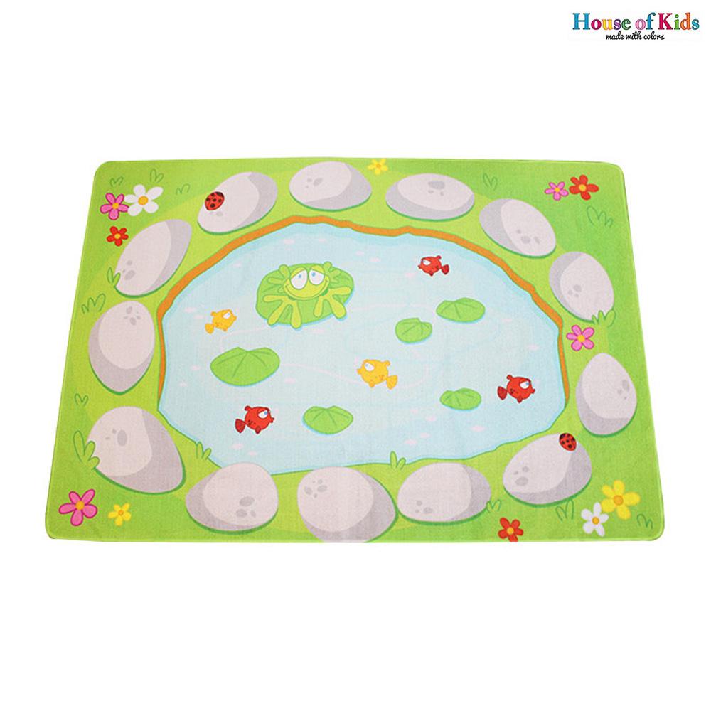 놀이매트 개구리연못 루프매트