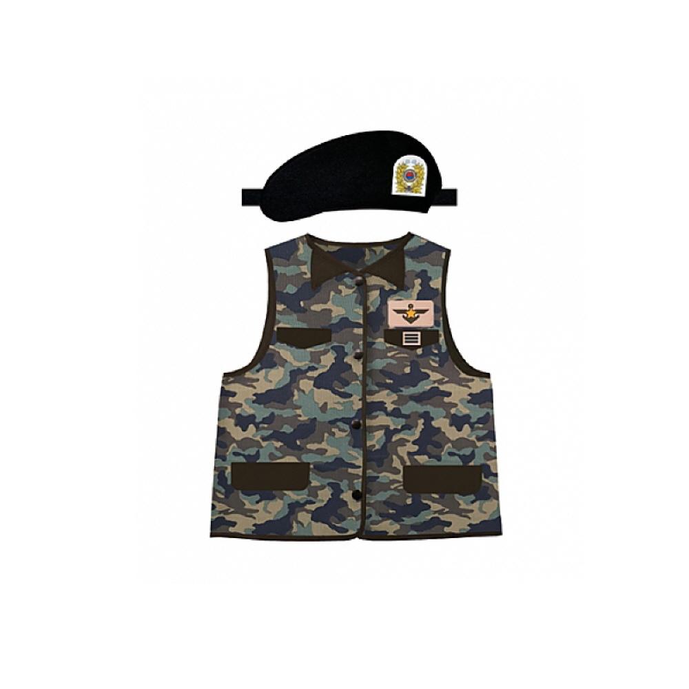 직업별 역할놀이 의상 군인 pco13616