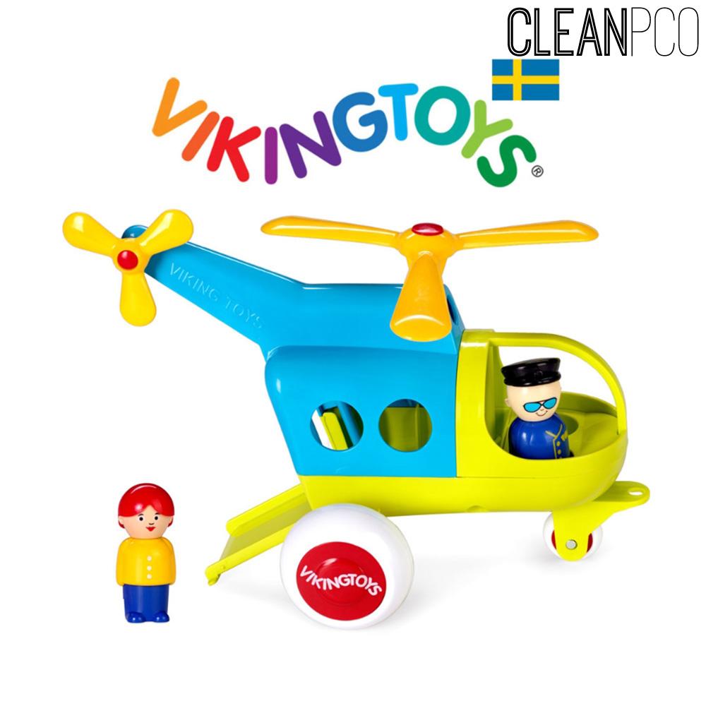 바이킹토이 점보 헬리콥터 펀컬러 30cm(781272)