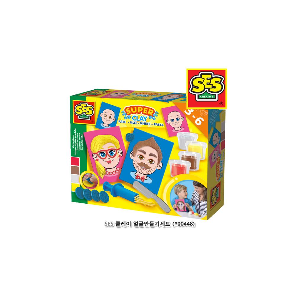 SES 클레이 얼굴만들기세트(00448)