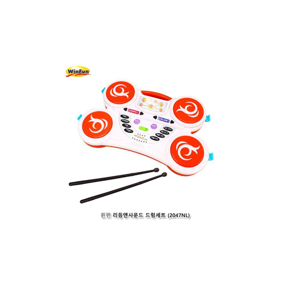 윈펀 리듬앤사운드 드럼세트(2047NL)