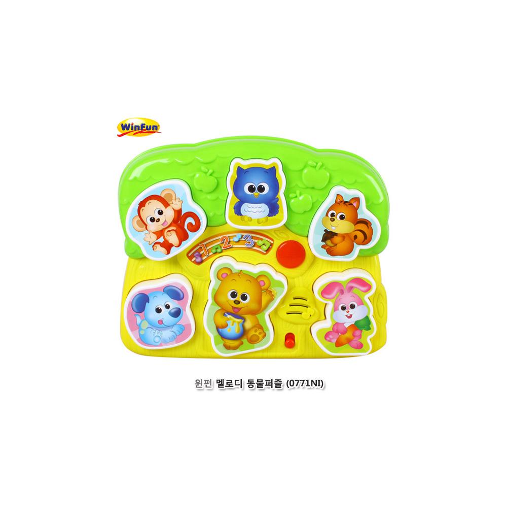 윈펀 멜로디 동물퍼즐(0771NI)