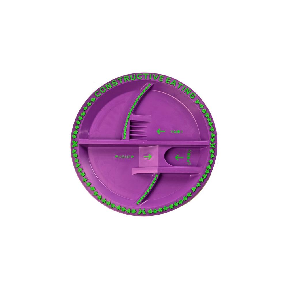 컨스트럭티브이팅 가든접시(보라)