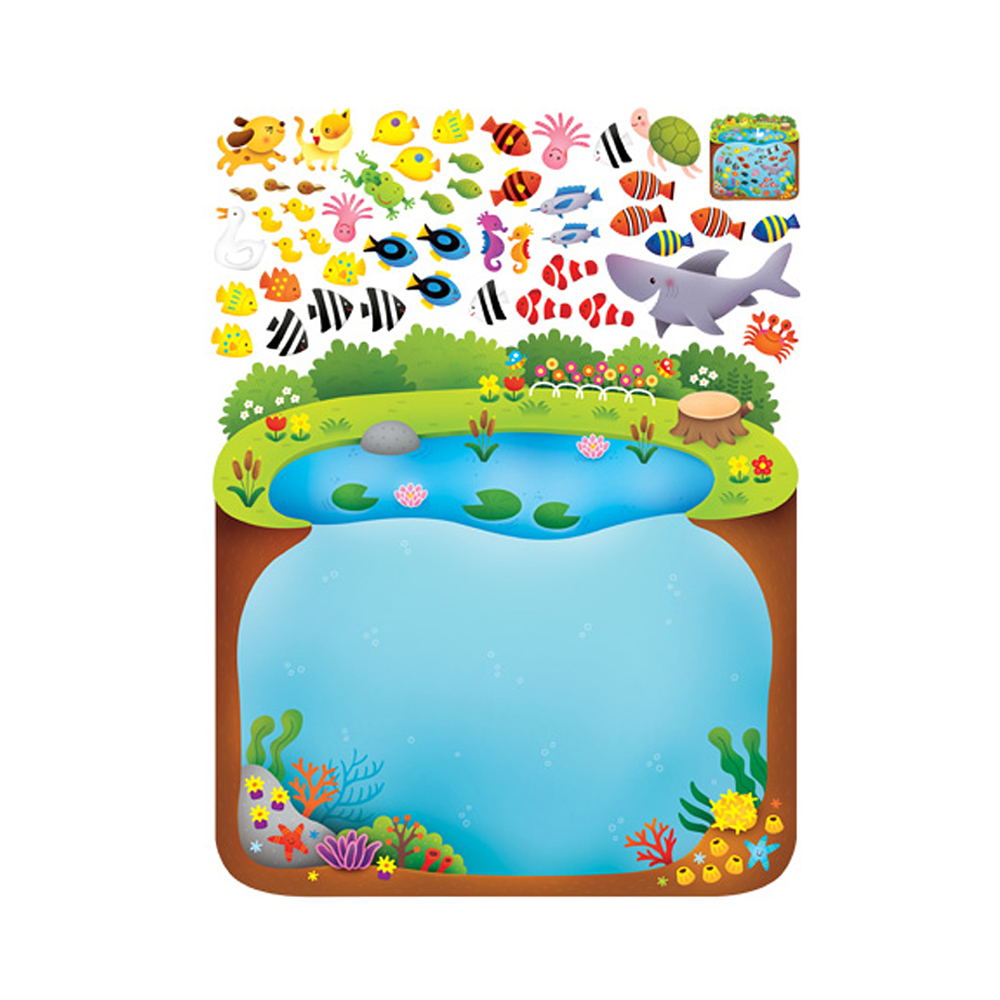 펀 놀이학습 물고기놀이 FDT-656