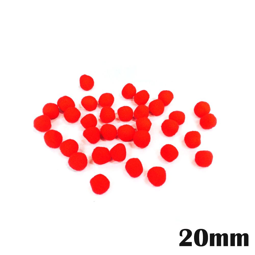 만들기재료 뿅뿅이단색(낱개포장) 20mm