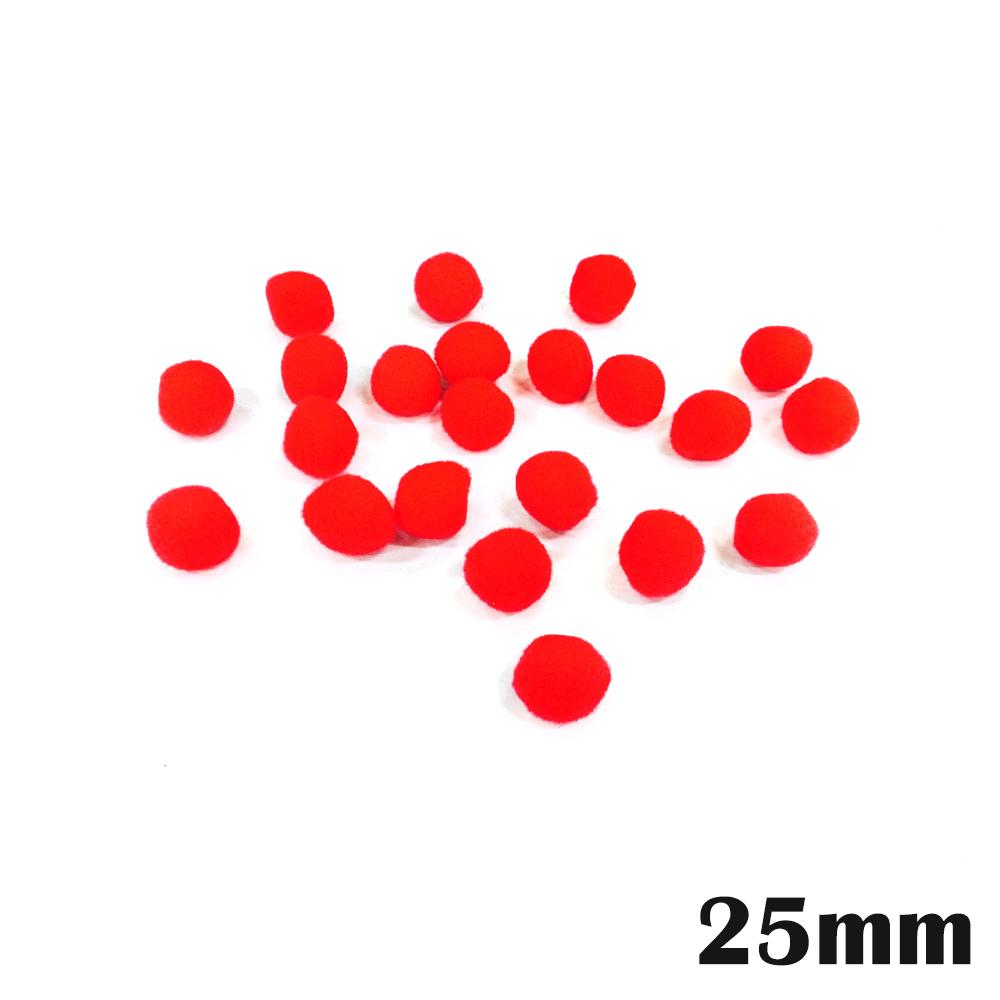 만들기재료 뿅뿅이단색(낱개포장) 25mm