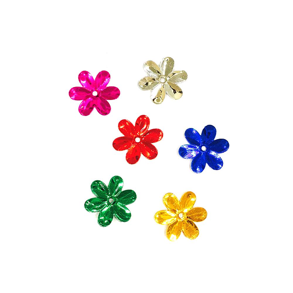 만들기재료 스팡클 육각꽃