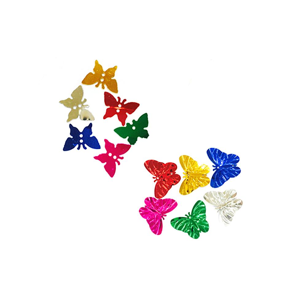 만들기재료 스팡클 나비(소/대)