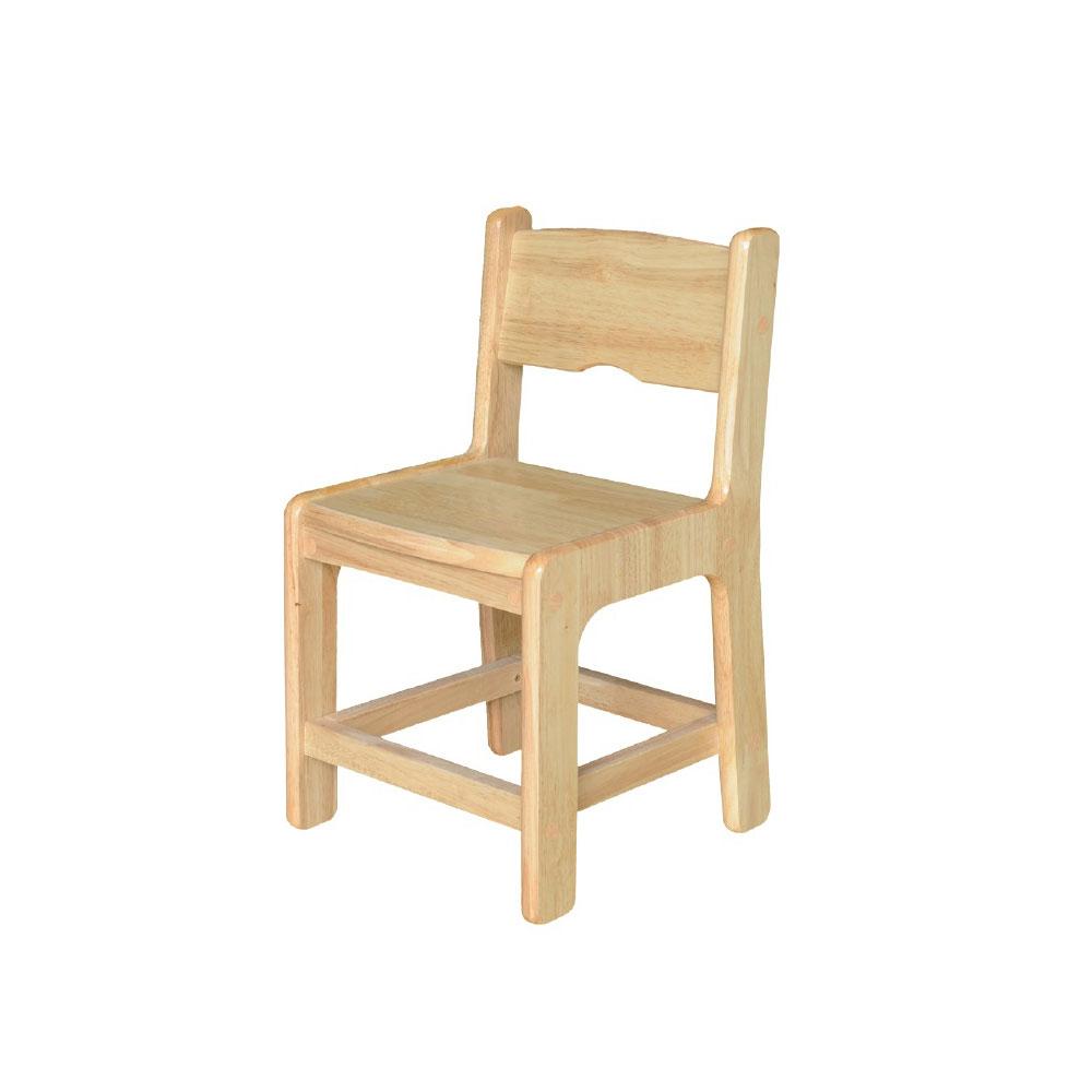 에코라인 고무나무 원목의자 CR02