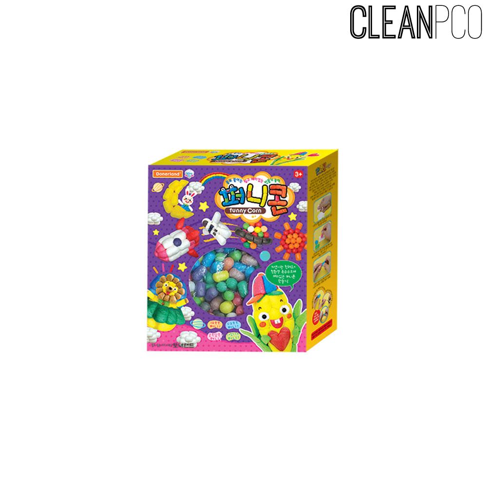 f09 친환경 옥수수 놀이감 퍼니콘 500알