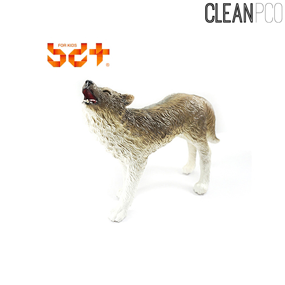 h28 반디 늑대 소프트동물모형