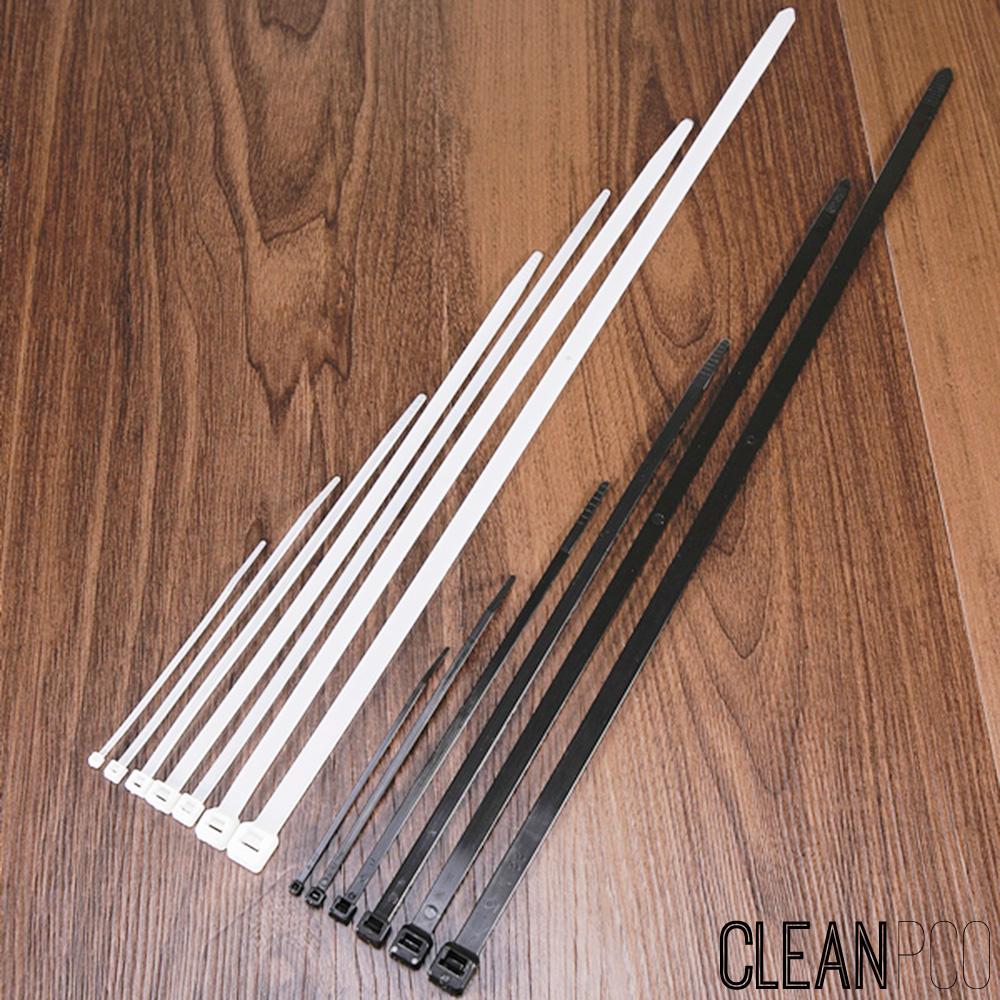 동아뉴텍 케이블타이 140mm 백색/흑색 1000개