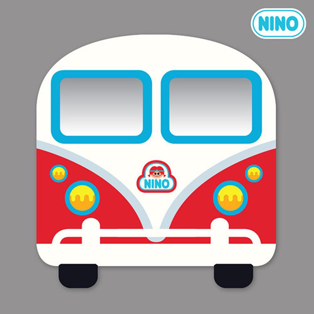 안전거울 니노 미러보드 미니버스빨강(정면) pco28712