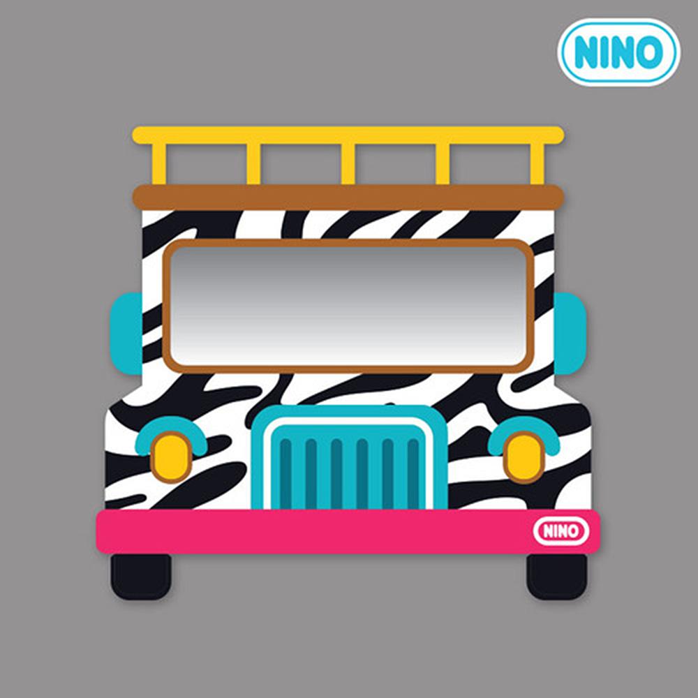 안전거울 니노 미러보드 사파리차(정면)