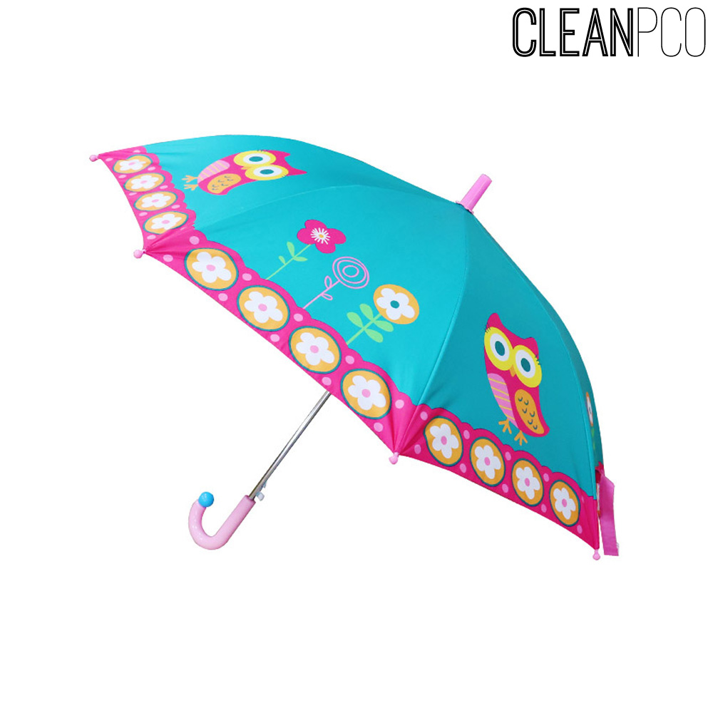 선물용품 큐티우산 부엉이 유아동우산