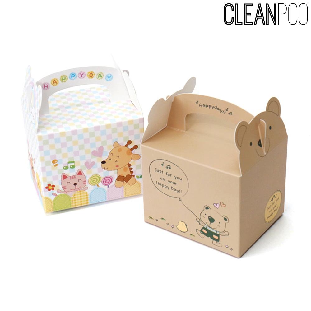 가꿈 생일행사용품 종이포장박스(4개1봉)