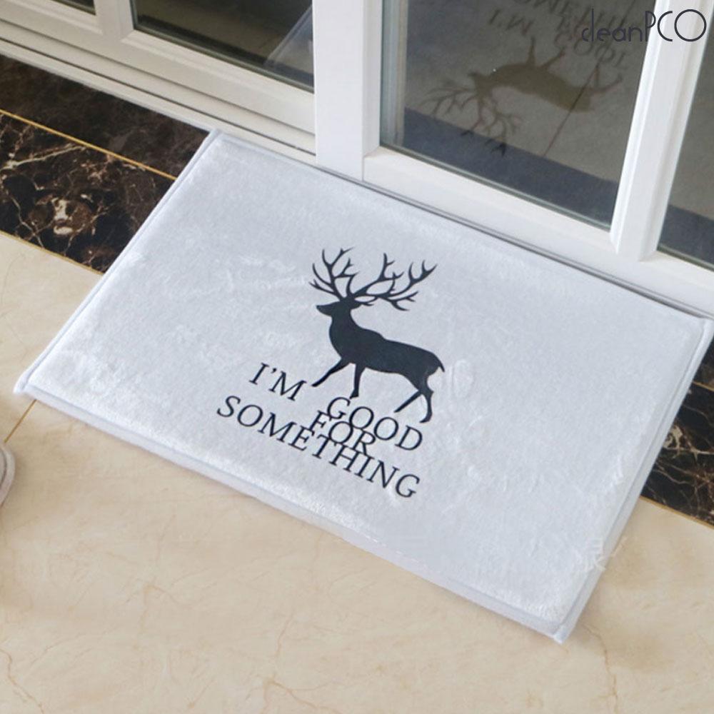 (리빙)소프트 사슴 발매트