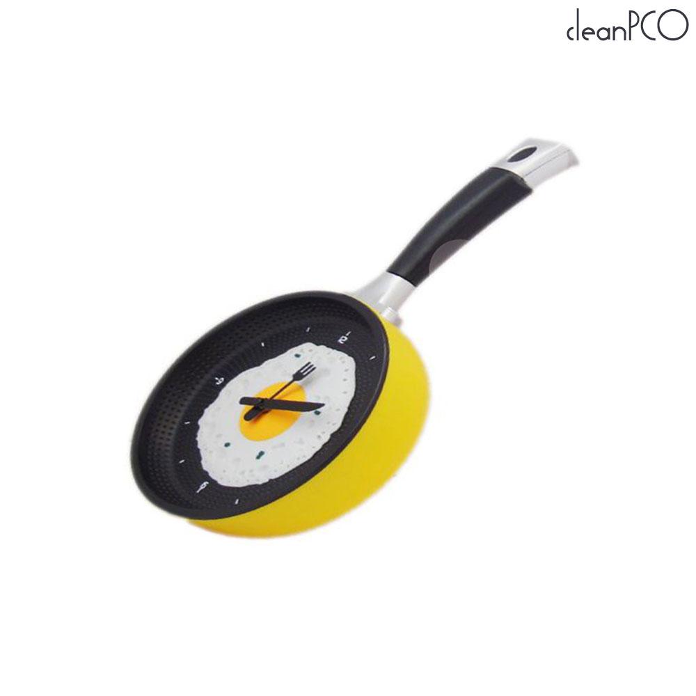 (리빙)계란 후라이팬 시계