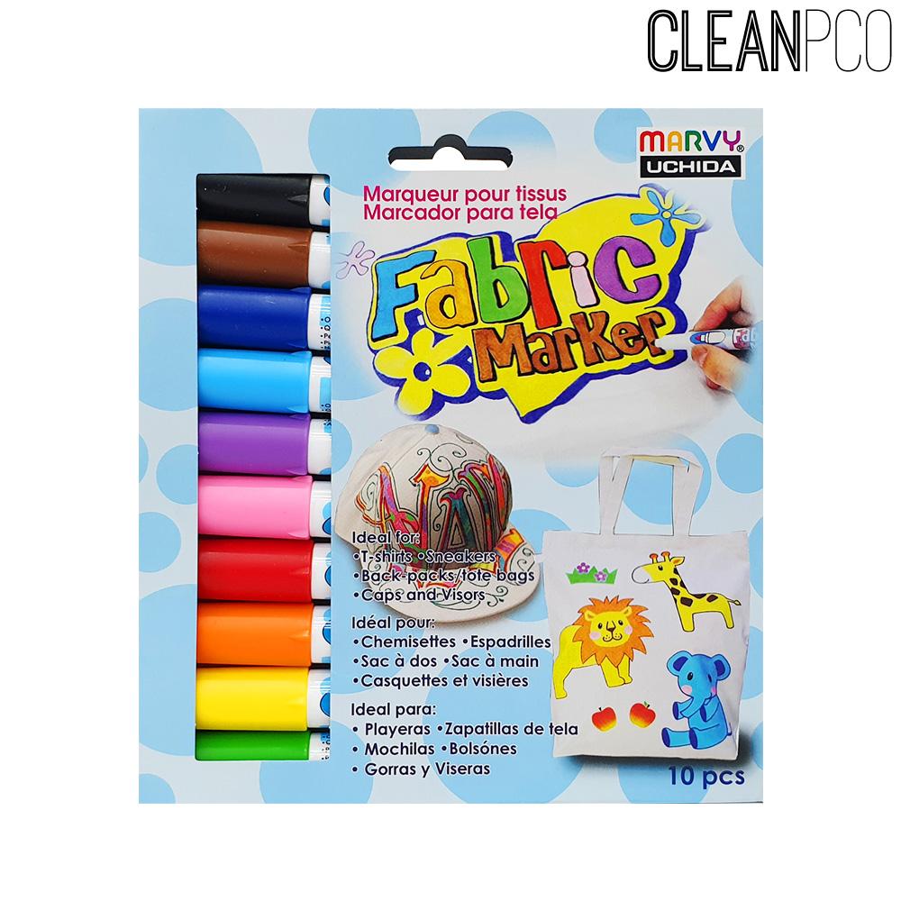 우찌다 패브릭마카 10색세트 pco30994