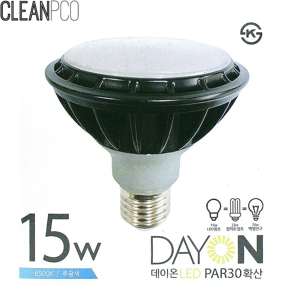 d10 데이온 LED 15W PAR30 확산형 주광색 E26 P34025