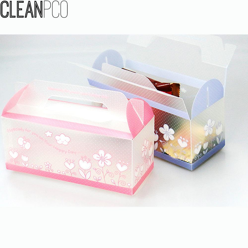 h01 가꿈 생일행사용품 PP포장박스(4개1봉) P34113
