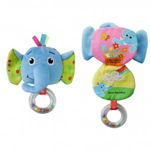 h24 동물딸랑이책-코끼리 P34474