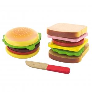 h24 햄버거와 샌드위치 P34709