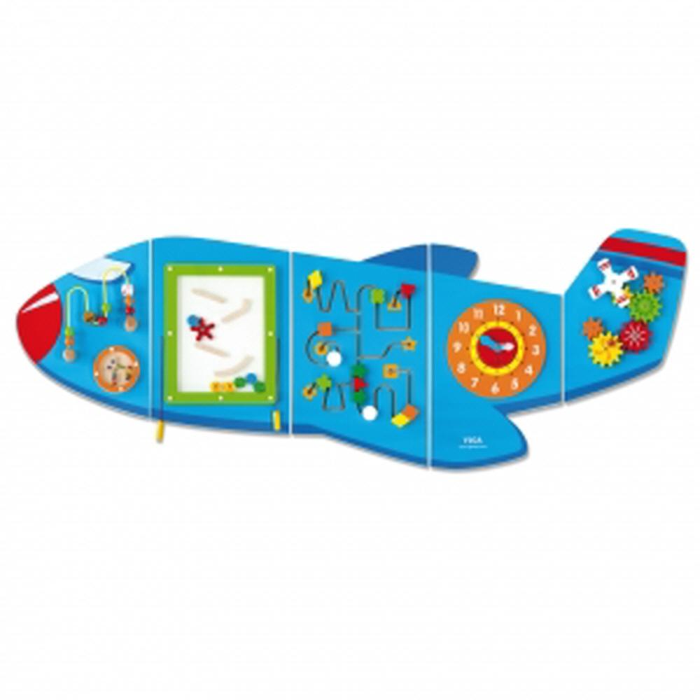 h24 벽걸이 비행기학습판 P35027