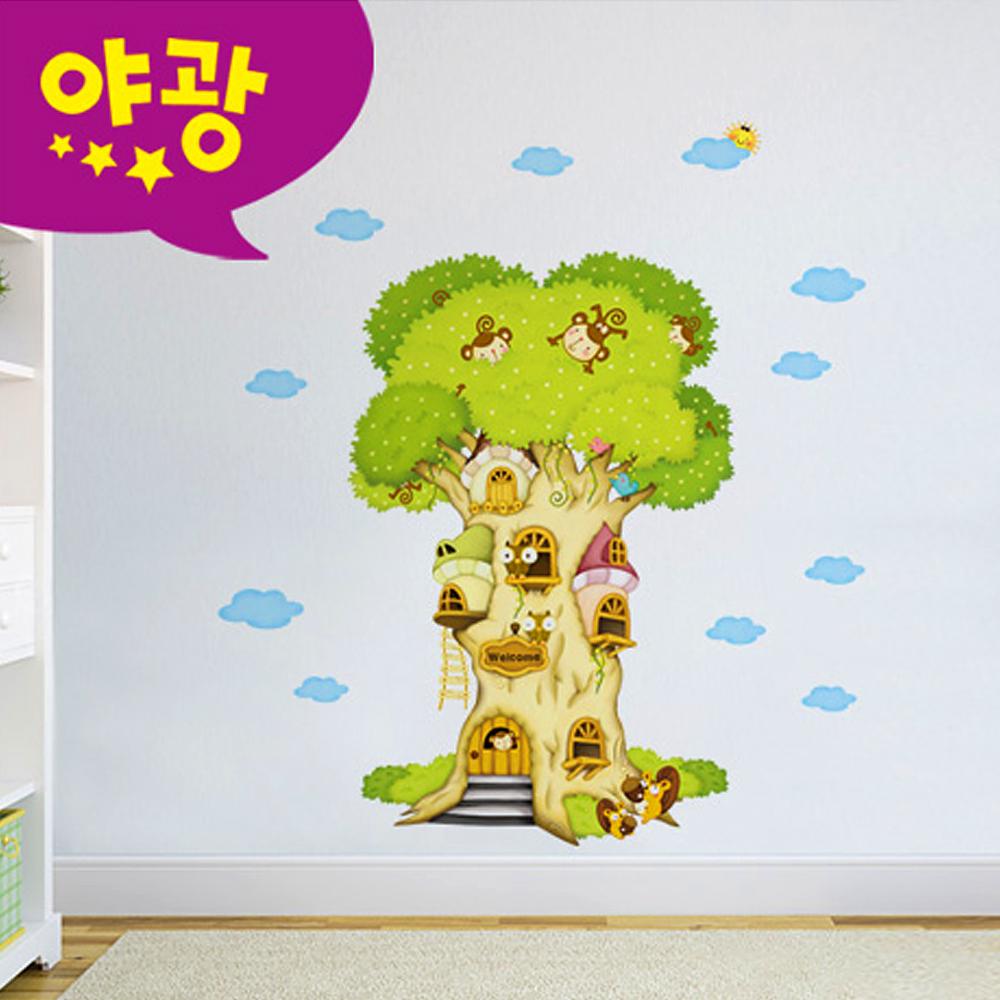 포인트벽지 퍼즐빅나무 MDM-001