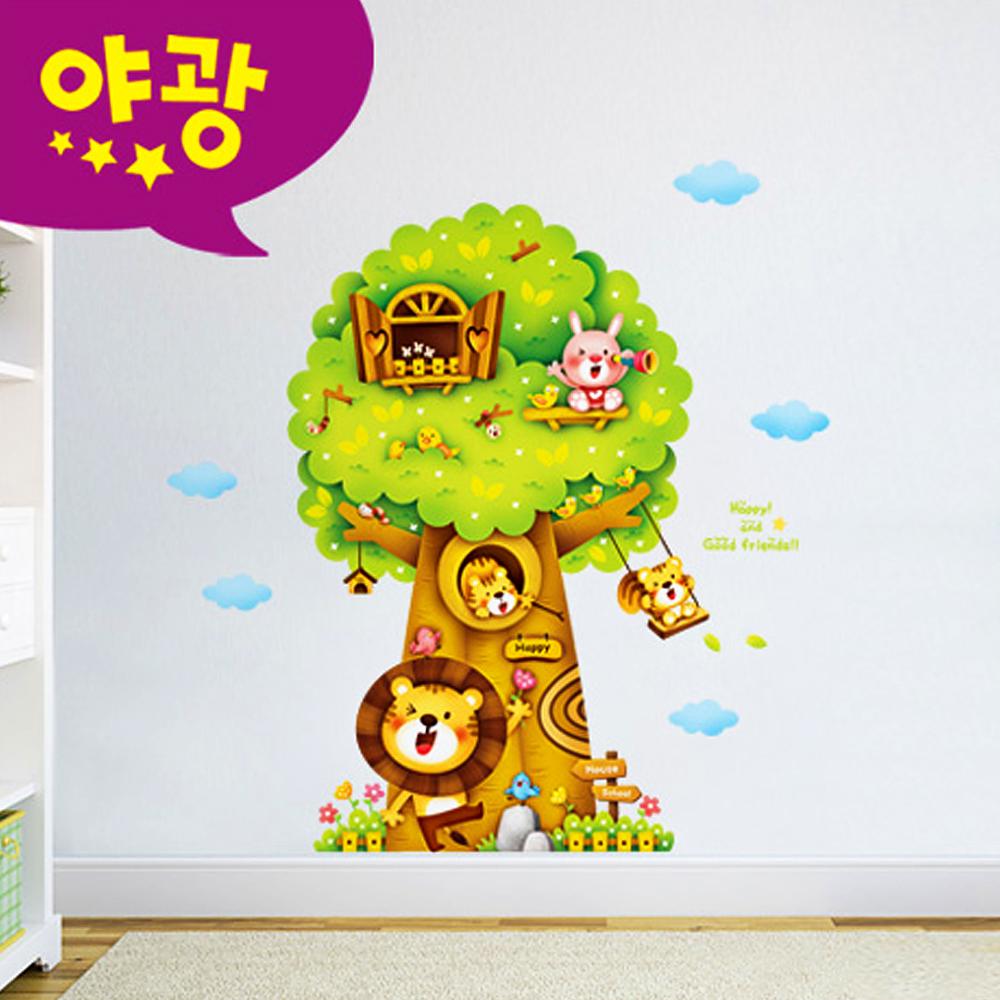 포인트벽지 퍼즐빅나무2 MDM-005